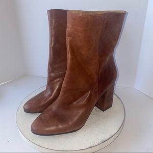 Lucky Brand Walwyn Brown Boots 10 womens